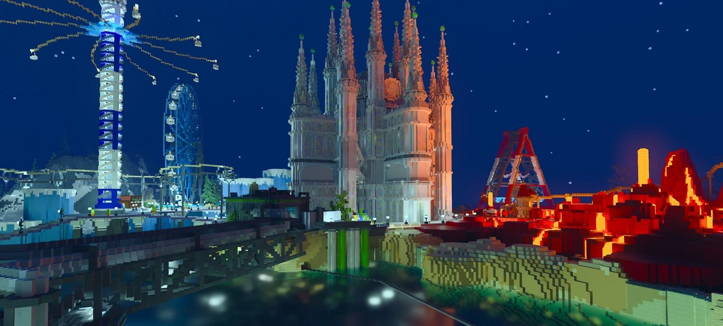 Видеосравнение Minecraft с трассировкой лучей