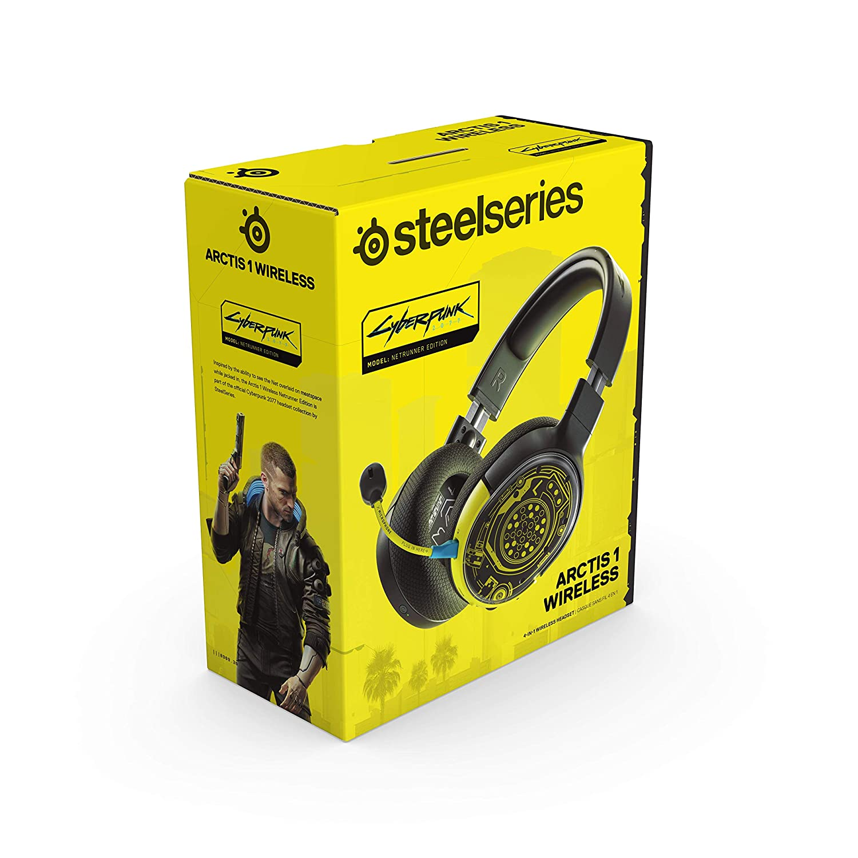SteelSeries выпустит наушники в стиле Cyberpunk 2077
