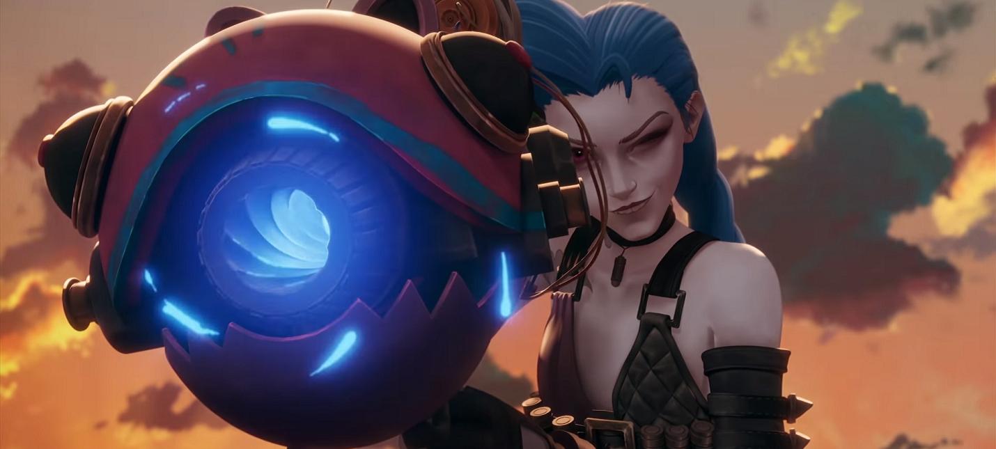 Хеймердингер, Джинкс и Экко в новом сюжетном ролике Legends of Runeterra