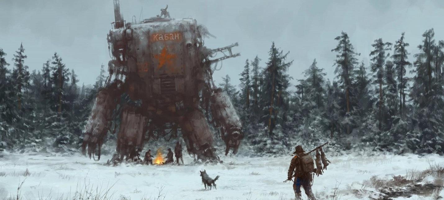Колокол, Наган, Огниво — первый геймплей Iron Harvest с мехами Русвета