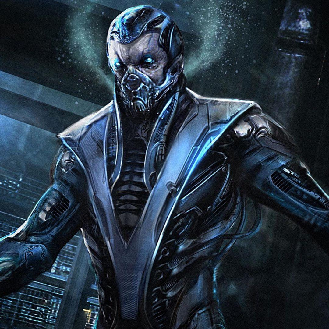 Монструозный Саб-Зиро на артах отмененного фильма по Mortal Kombat