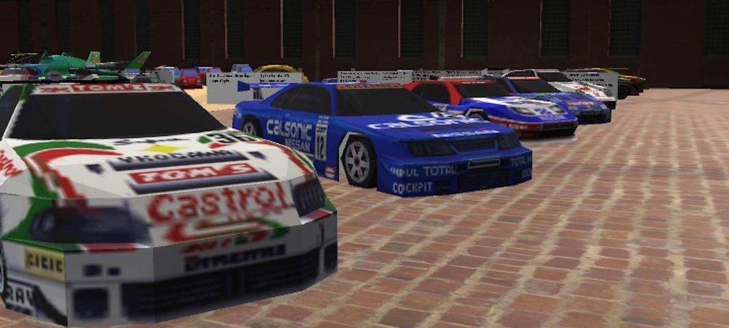 Энтузиаст создал виртуальный музей автомобилей из игр для Nintendo 64
