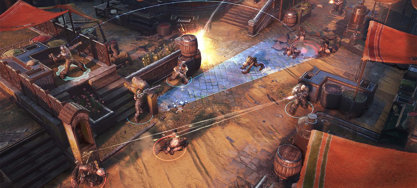 Разработчики Gears Tactics: Xbox Game Pass немного развязал нам руки