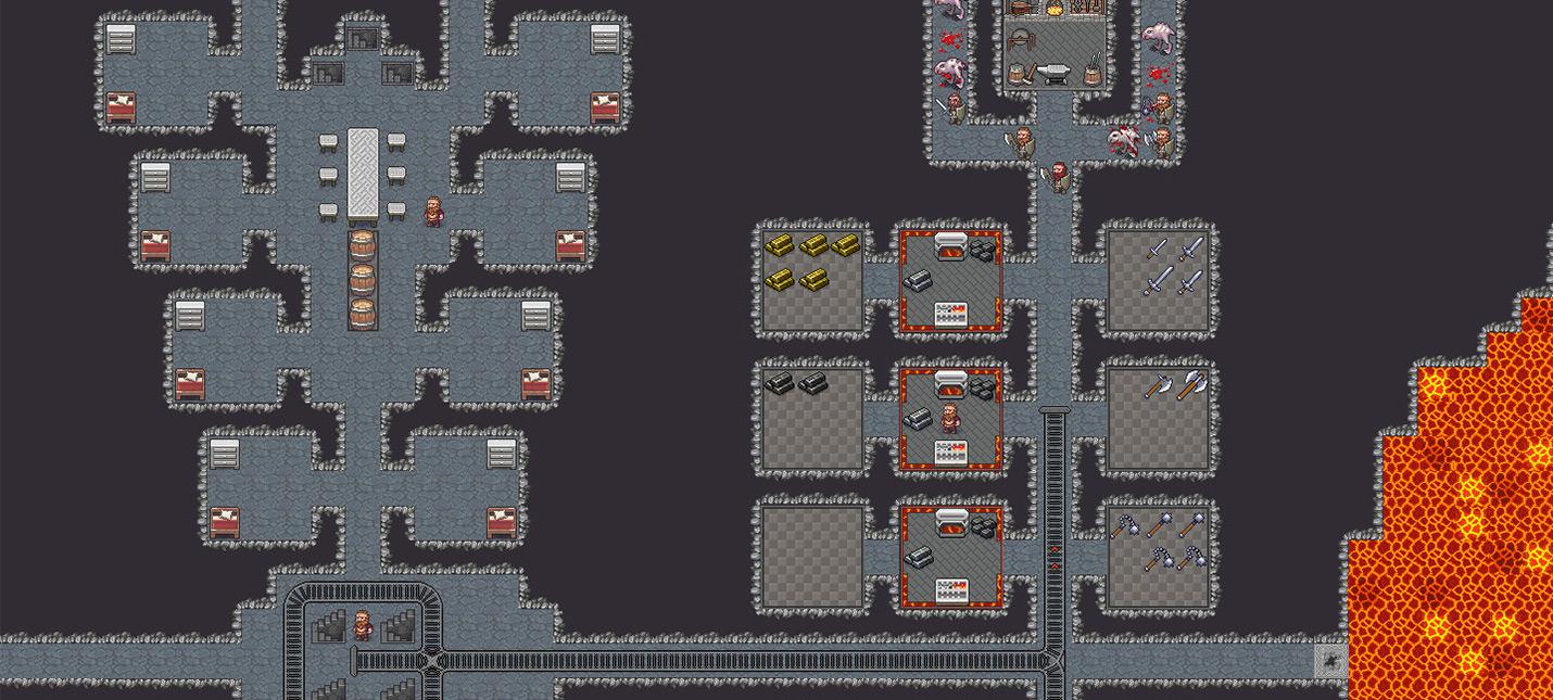 Новая версия Dwarf Fortress будет включать графику для рандомно генерируемых монстров
