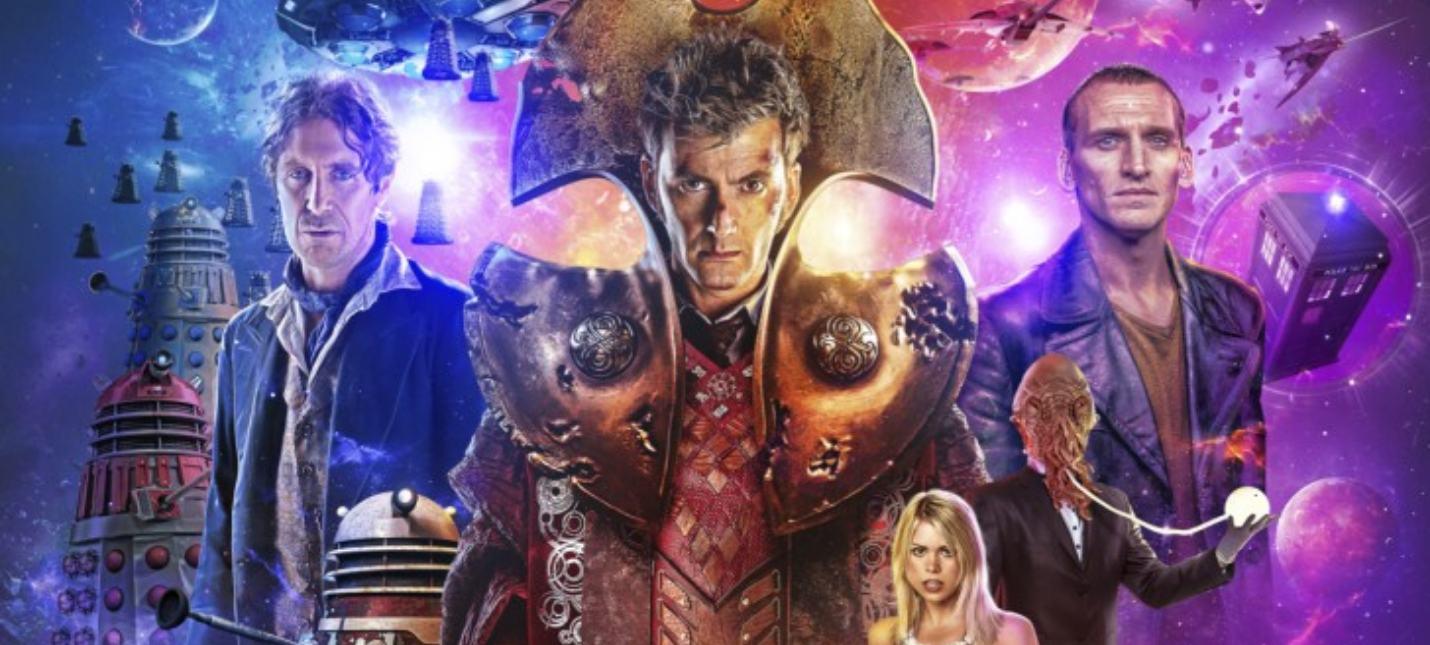 """BBC запустит инициативу """"Победоносный Повелитель времени"""" сразу с тремя Докторами"""
