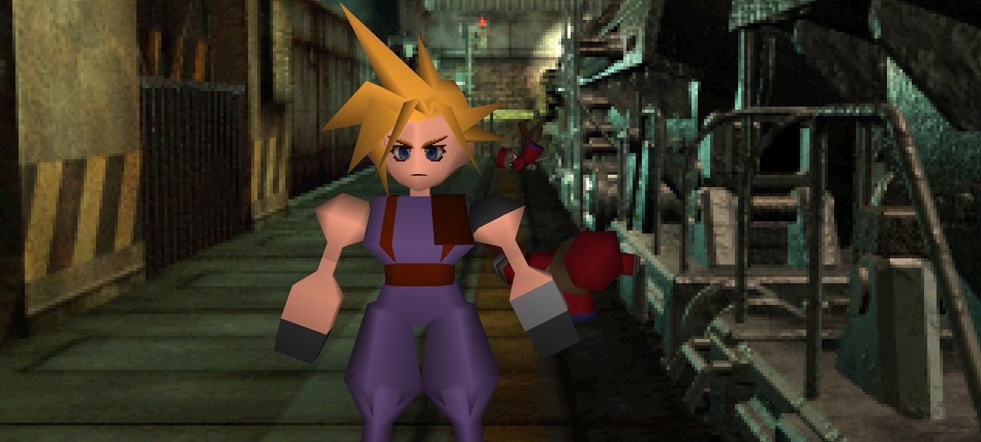Square Enix открыла предзаказы полигональных фигурок Final Fantasy VII