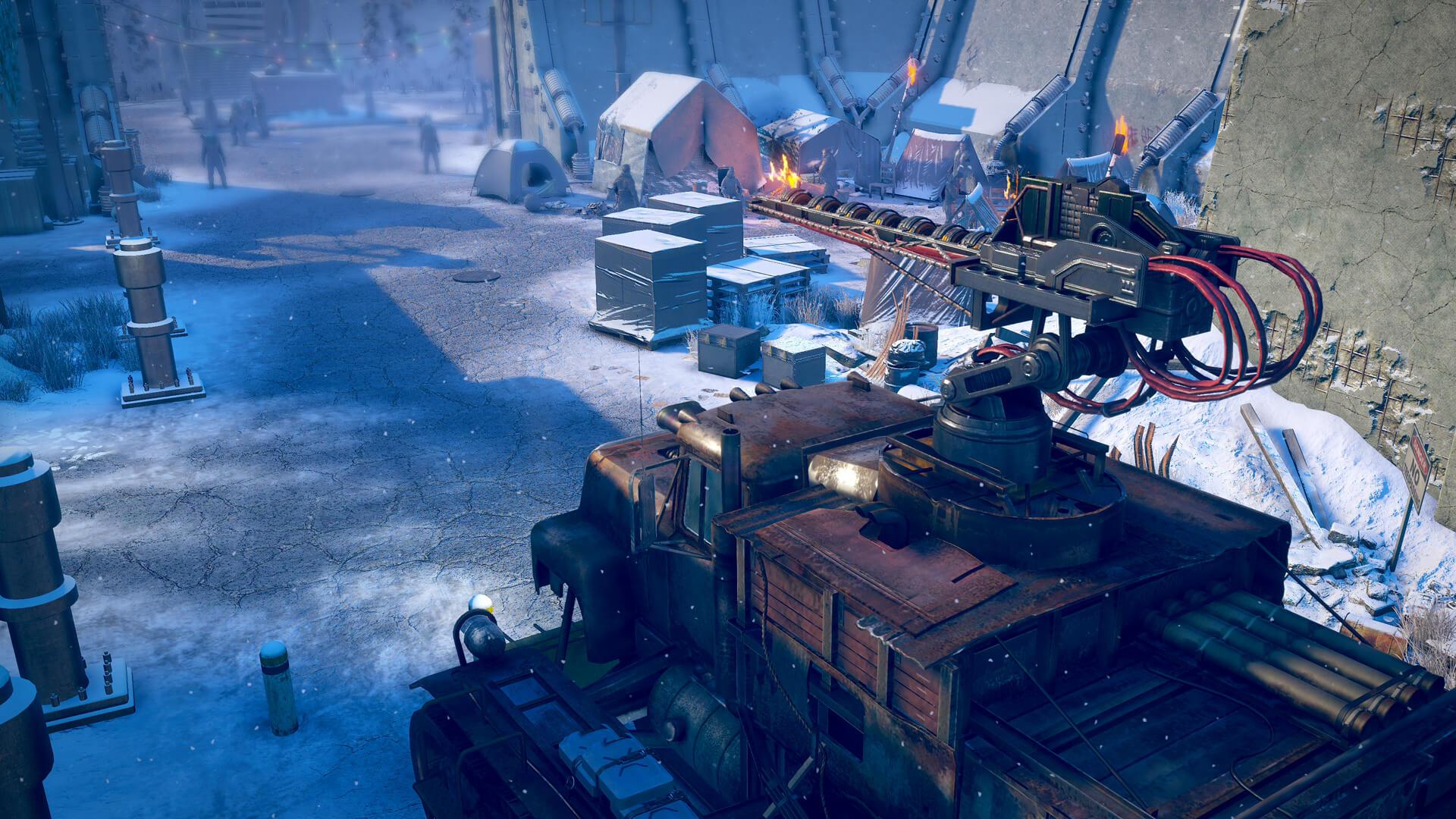 Три новых скриншота Wasteland 3