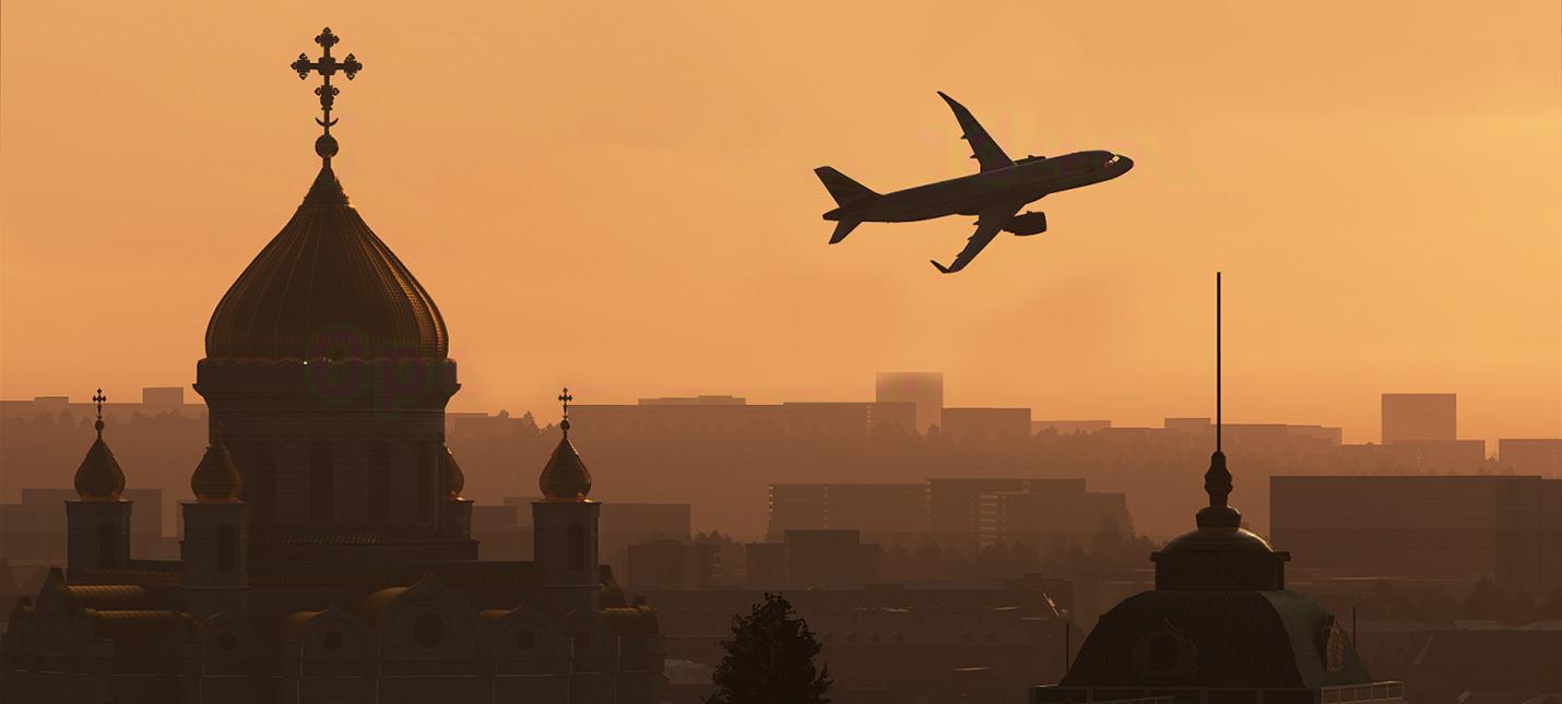 Православный собор и статуя Свободы на новых кадрах Microsoft Flight Simulator