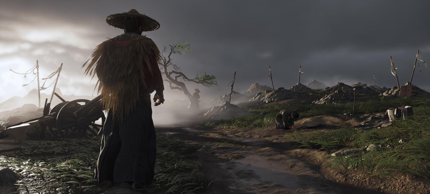 Sucker Punch показала динамические темы для PS4 по Ghost of Tsushima
