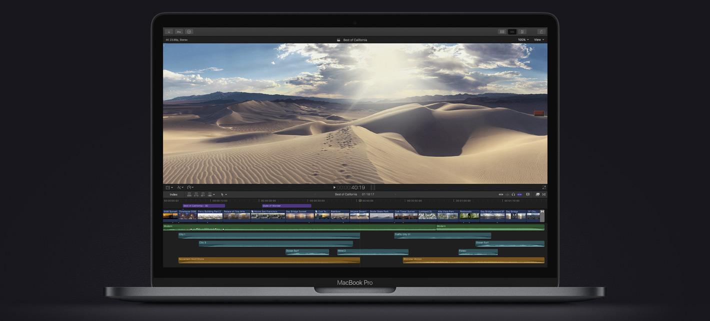 Apple представила новый 13-дюймовый MacBook Pro с нормальной клавиатурой