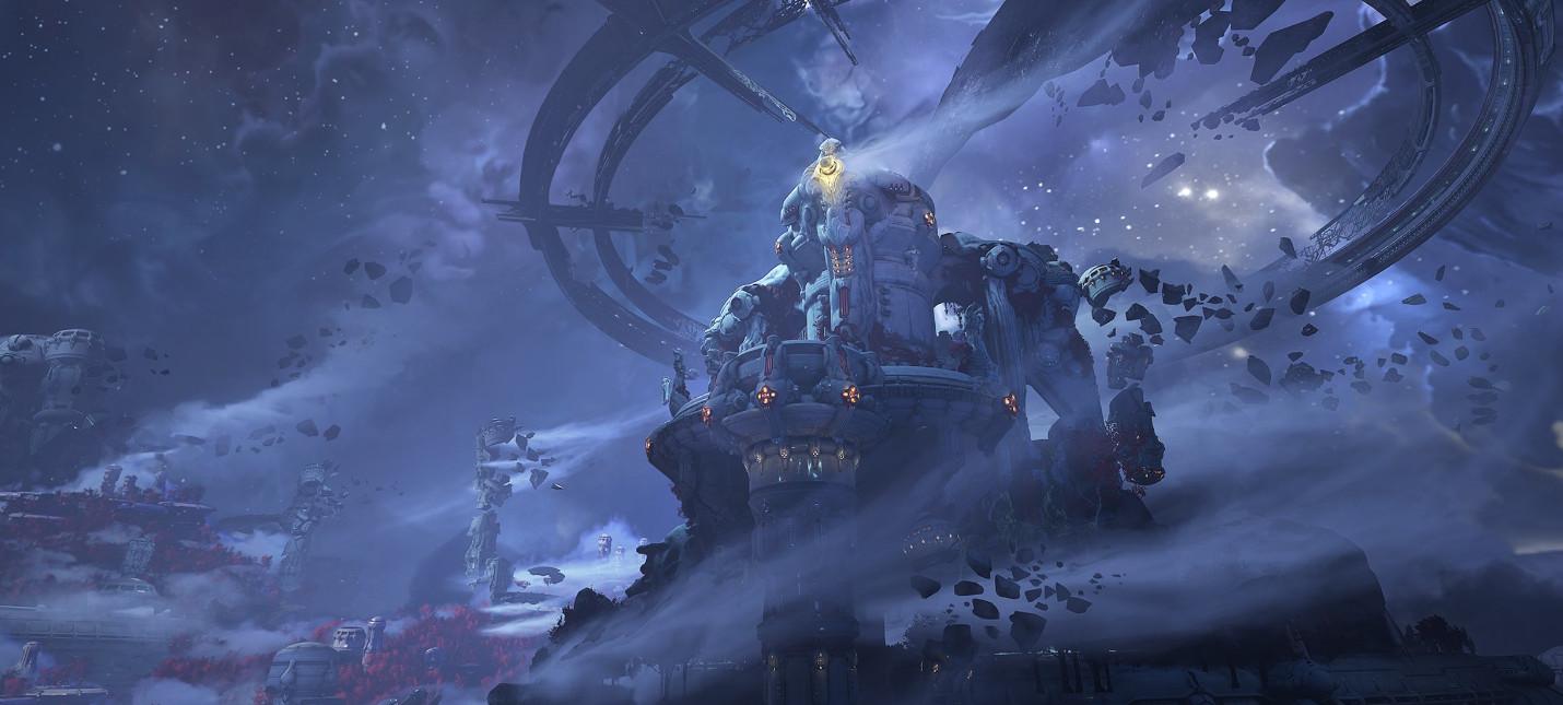 Первые скриншоты сюжетного дополнения Doom Eternal