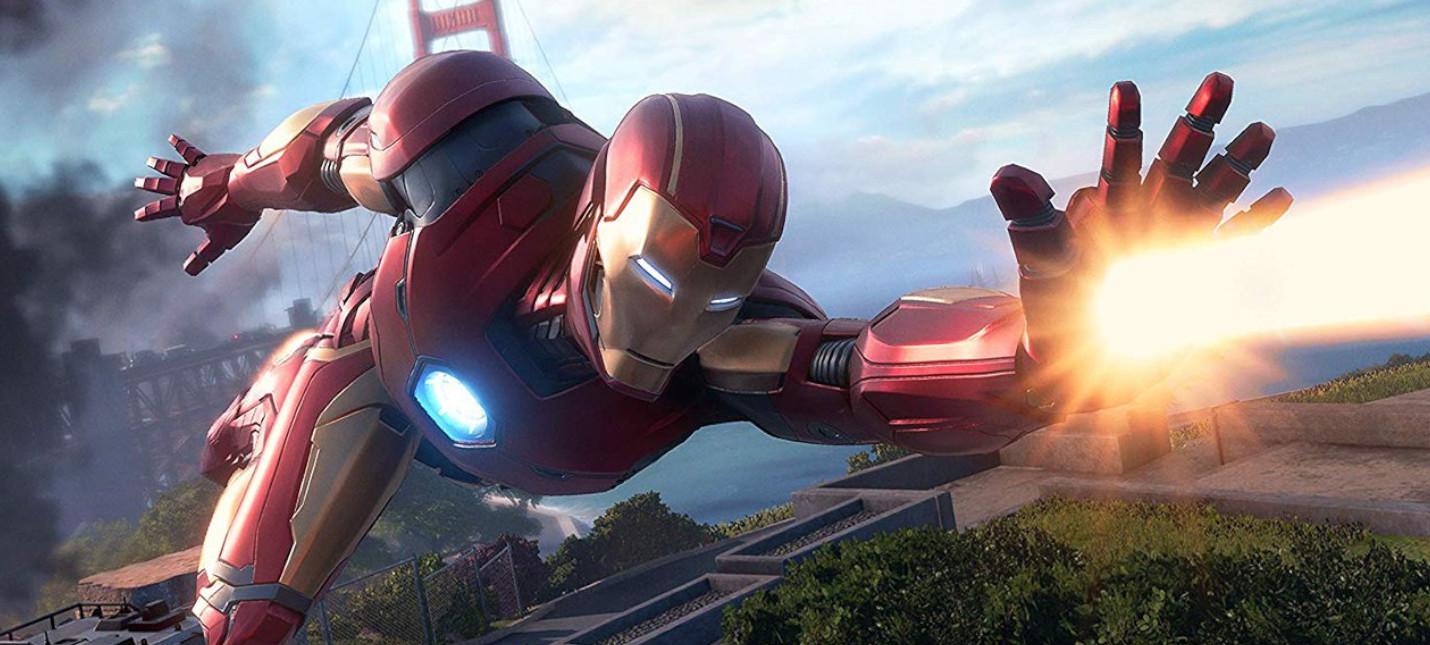 Marvel's Iron Man VR выйдет 3 июля
