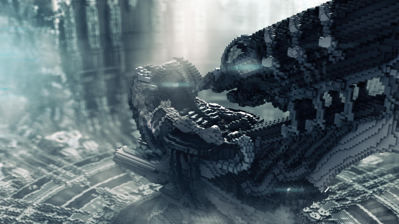 В Minecraft воссоздали тематический парк Гигера