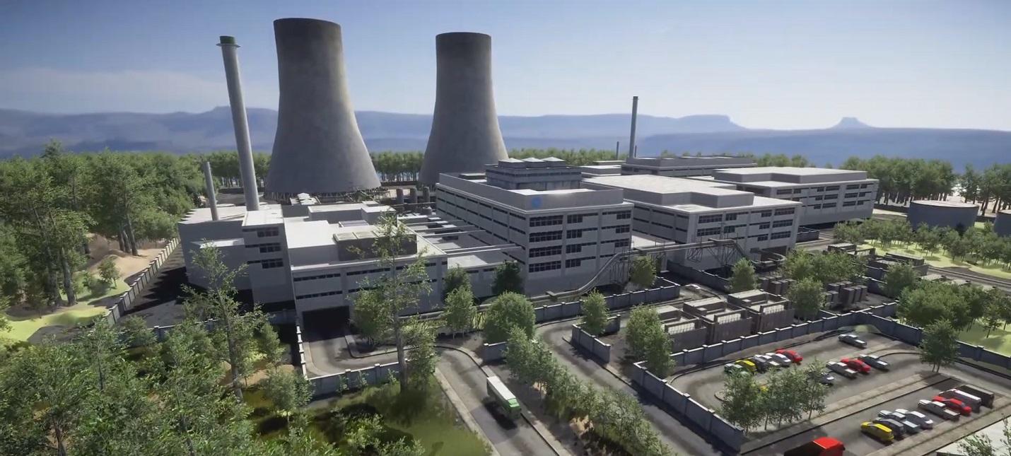 Трудности управления атомной электростанцией в первом трейлере симулятора Radiance