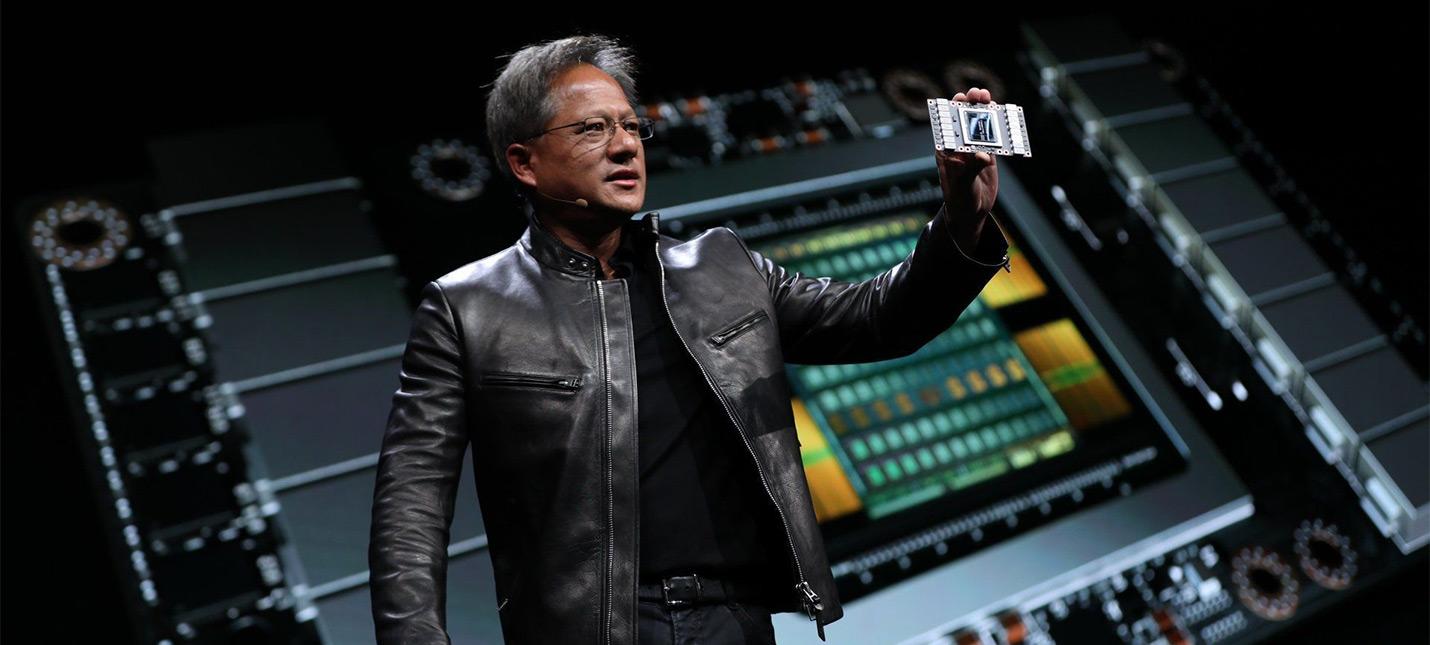 Презентация новой графической архитектуры Nvidia Ampere с кухни Хуанга