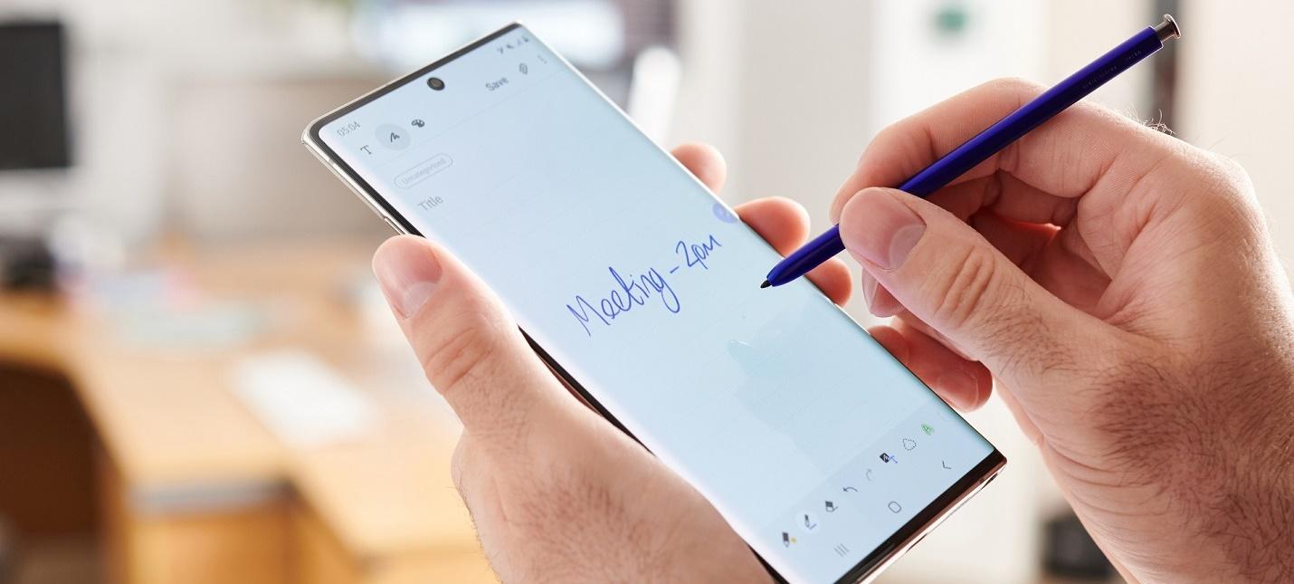 В сеть утекли характеристики линейки Samsung Galaxy Note 20