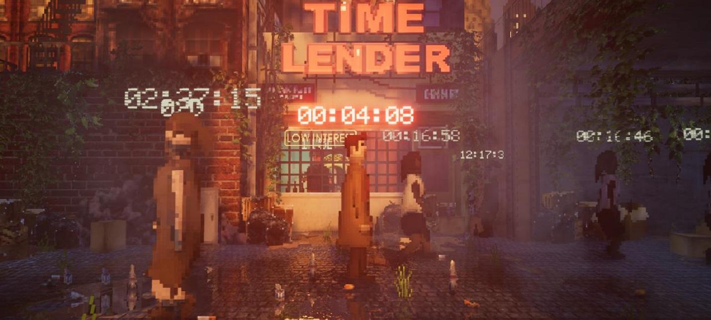 TimeOut — бесплатное пиксельное приключение про детектива в нуарном будущем
