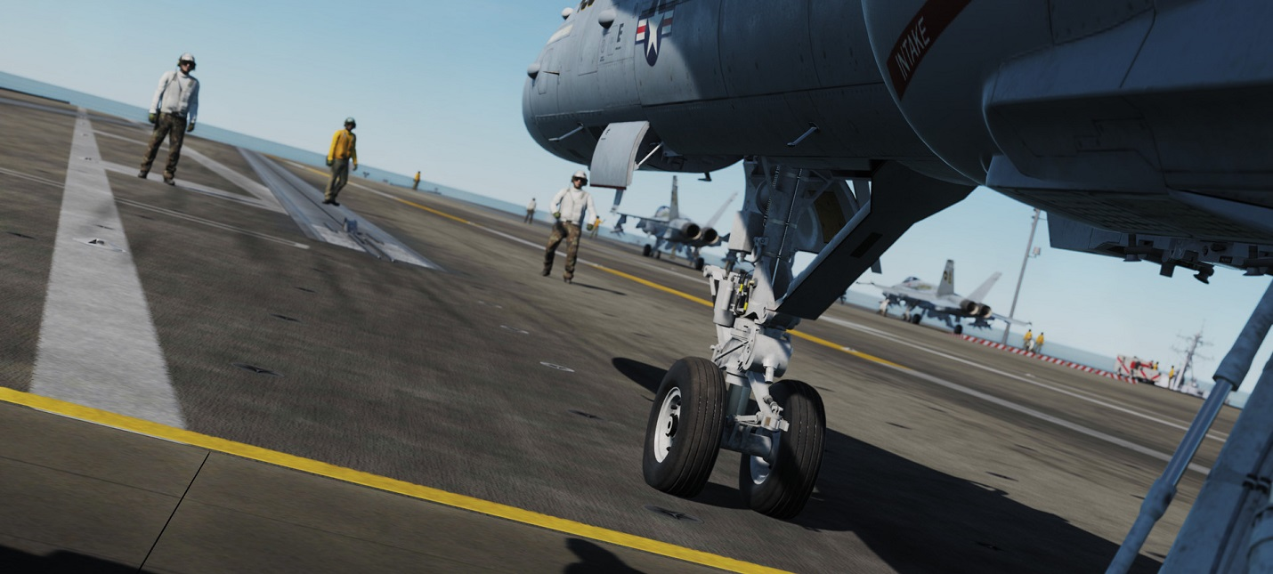 Состоялся выход DCS: Supercarrier — самого детального симулятора авианосцев