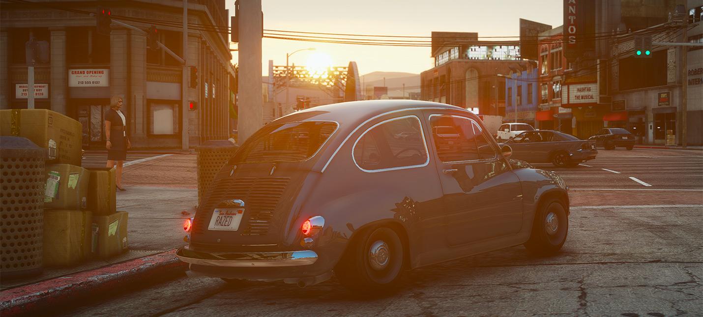 История и причины создания самого красивого графического мода GTA 5