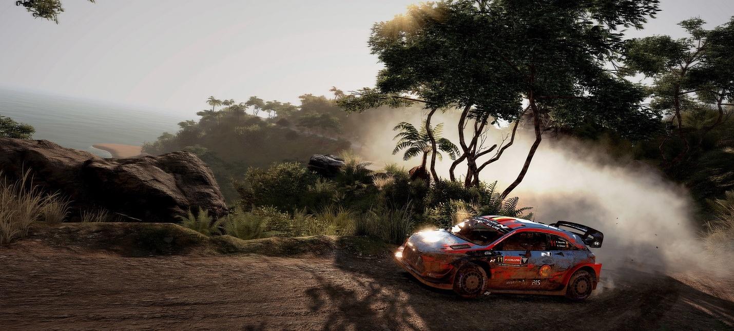 Новые скриншоты симулятора WRC 9