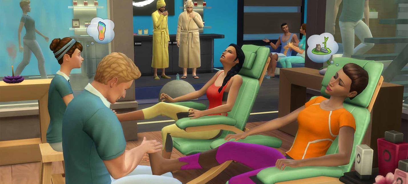 Для The Sims 4 выйдет обновление с пожарными и свободным размещением окон и дверей