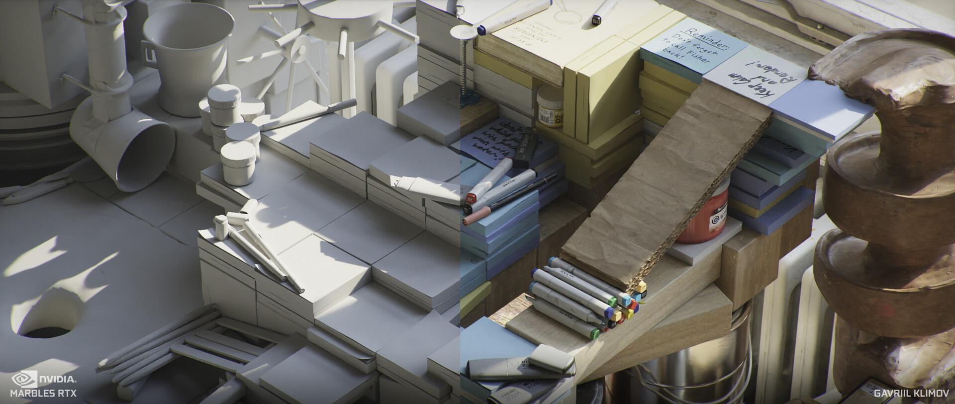 Демо Marbles с трассировкой лучей от Nvidia неотличимо от реальности