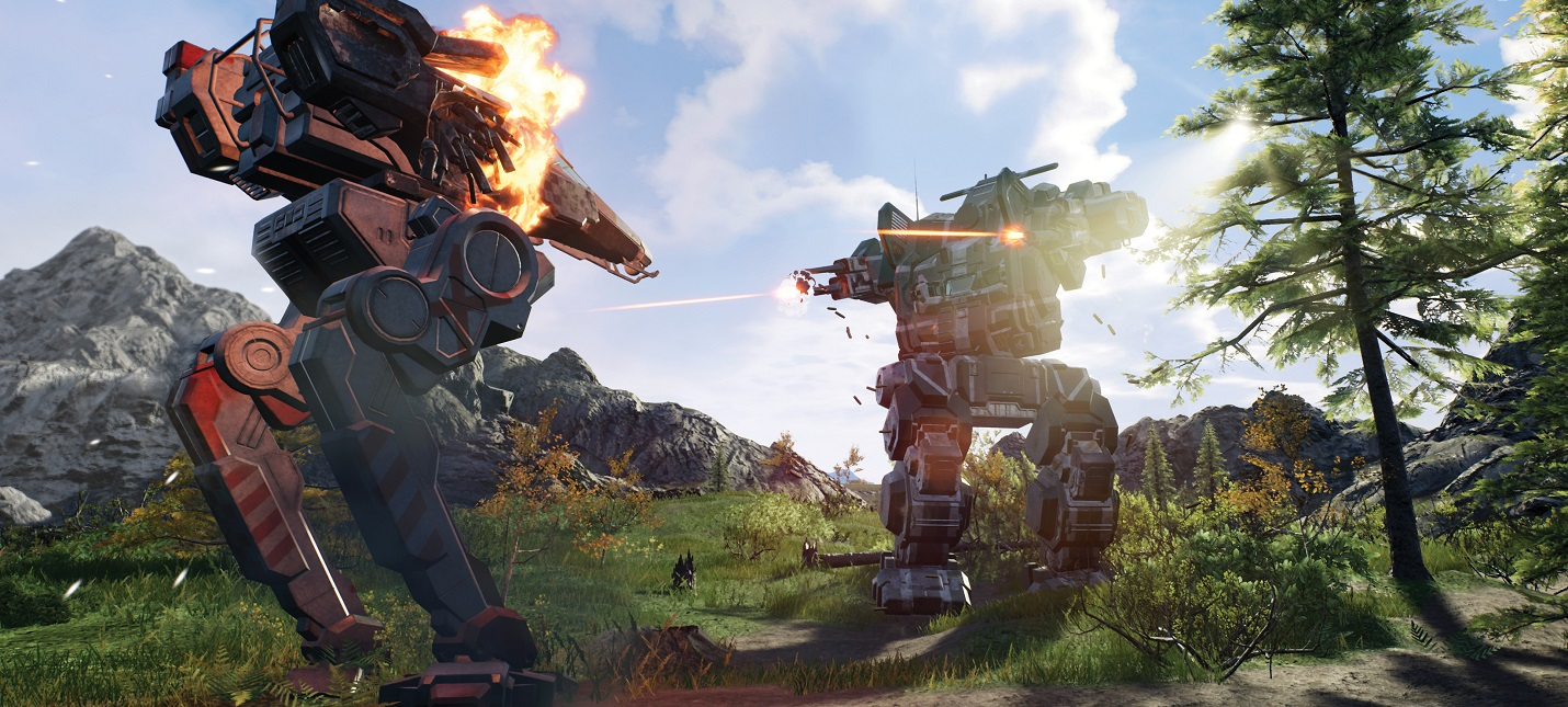 Моддер улучшил погодные условия в MechWarrior 5: Mercenaries