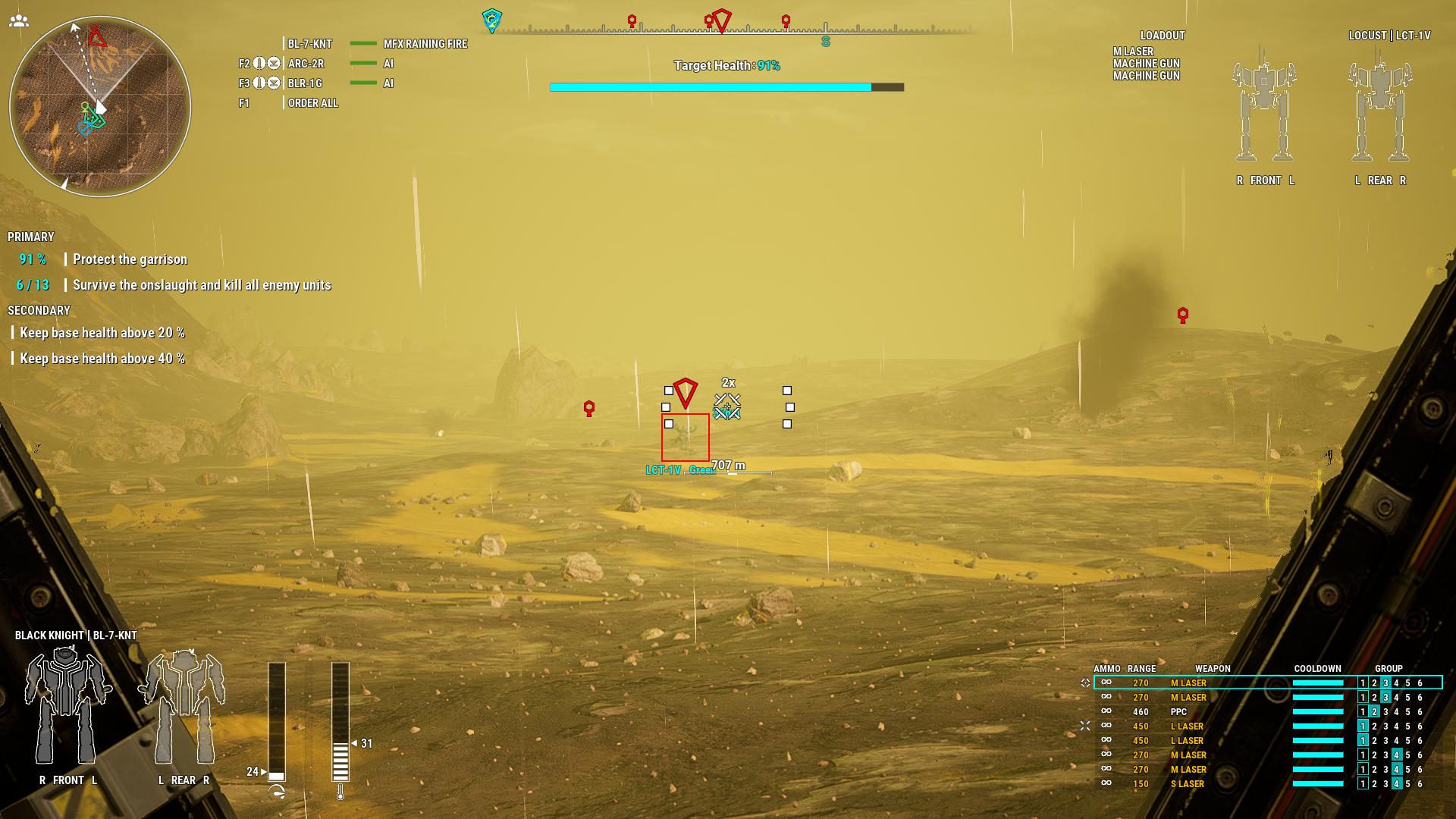 Моддер улучшил погодные условия в MechWarrior 5: Mercenaries
