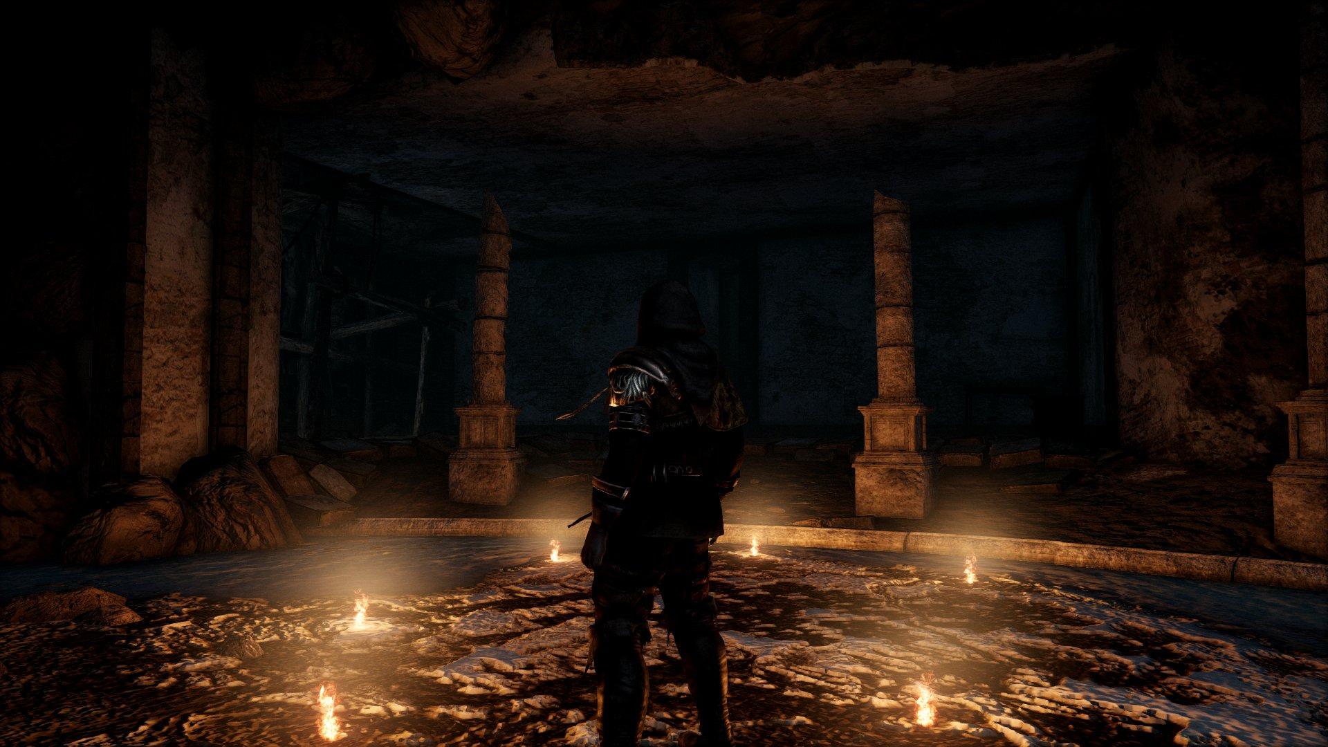 Скриншоты Dark Souls 2 с измененной системой освещения