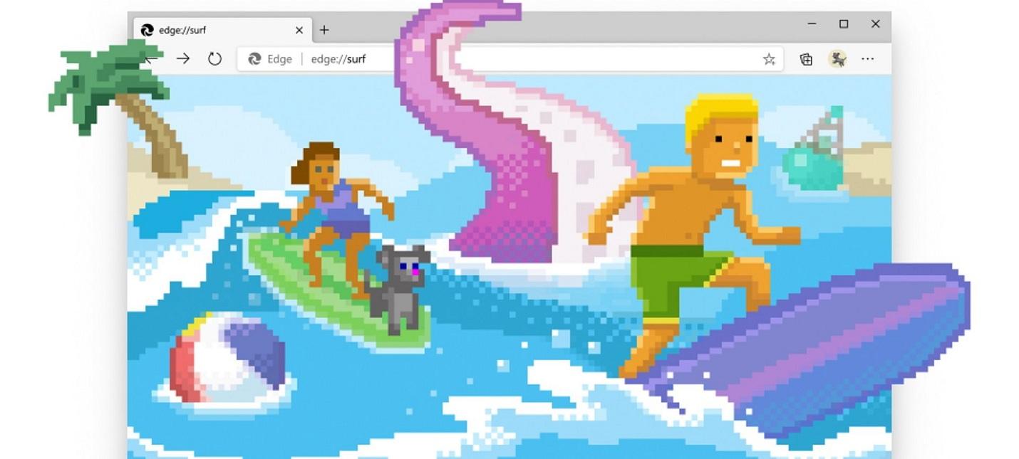 В Microsoft Edge появилась мини-игра на случай отключения интернета