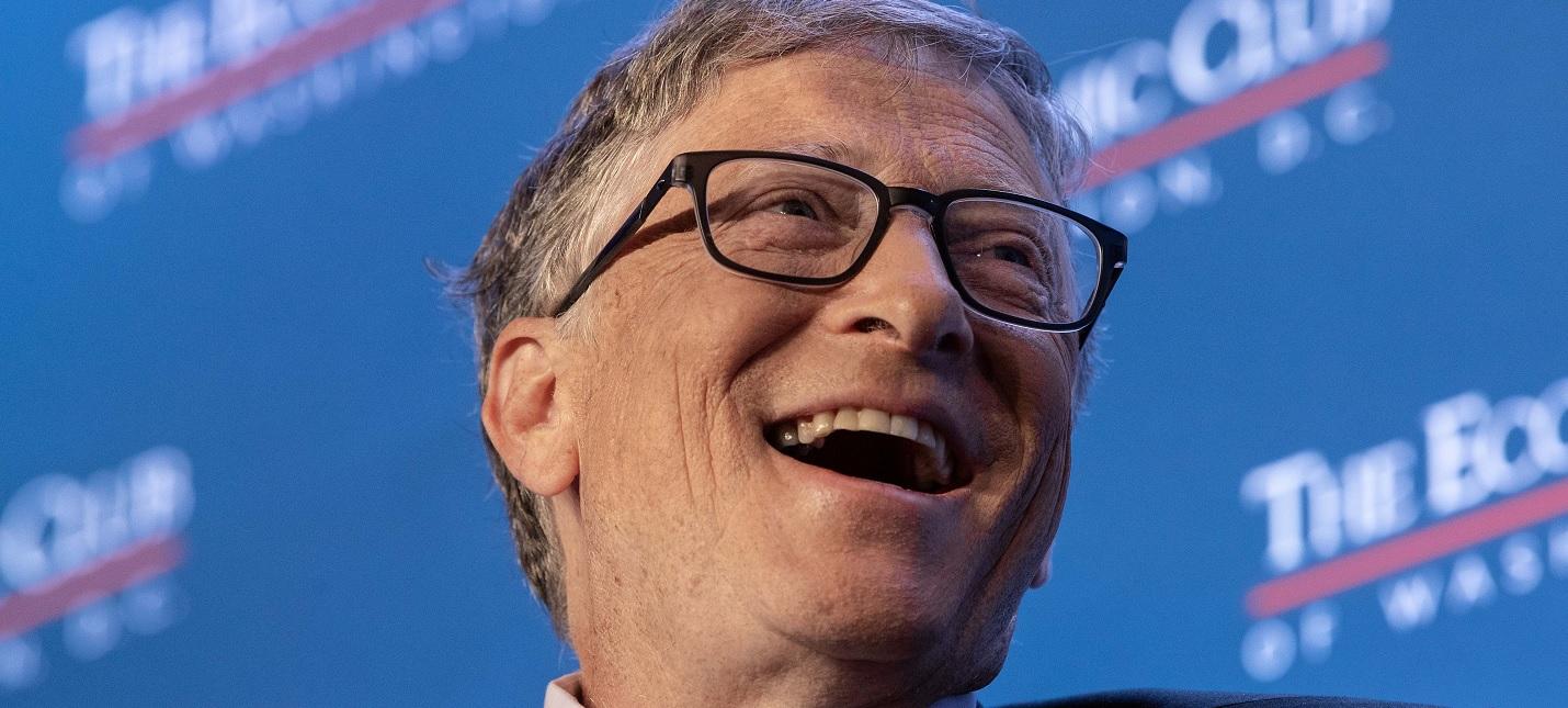 Билл Гейтс назвал конспирологические теории о нем глупостью