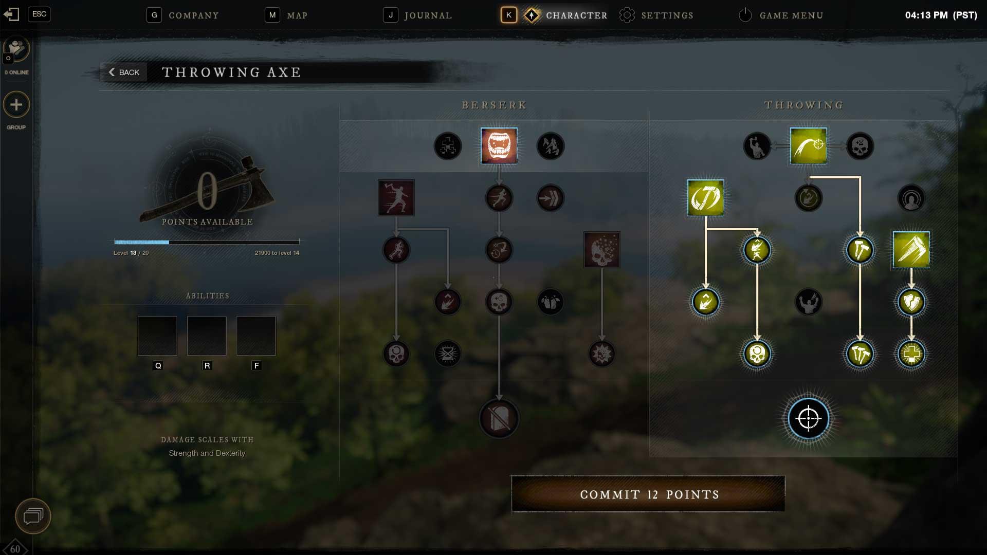 Разработчики New World рассказали про систему прогрессии игрока