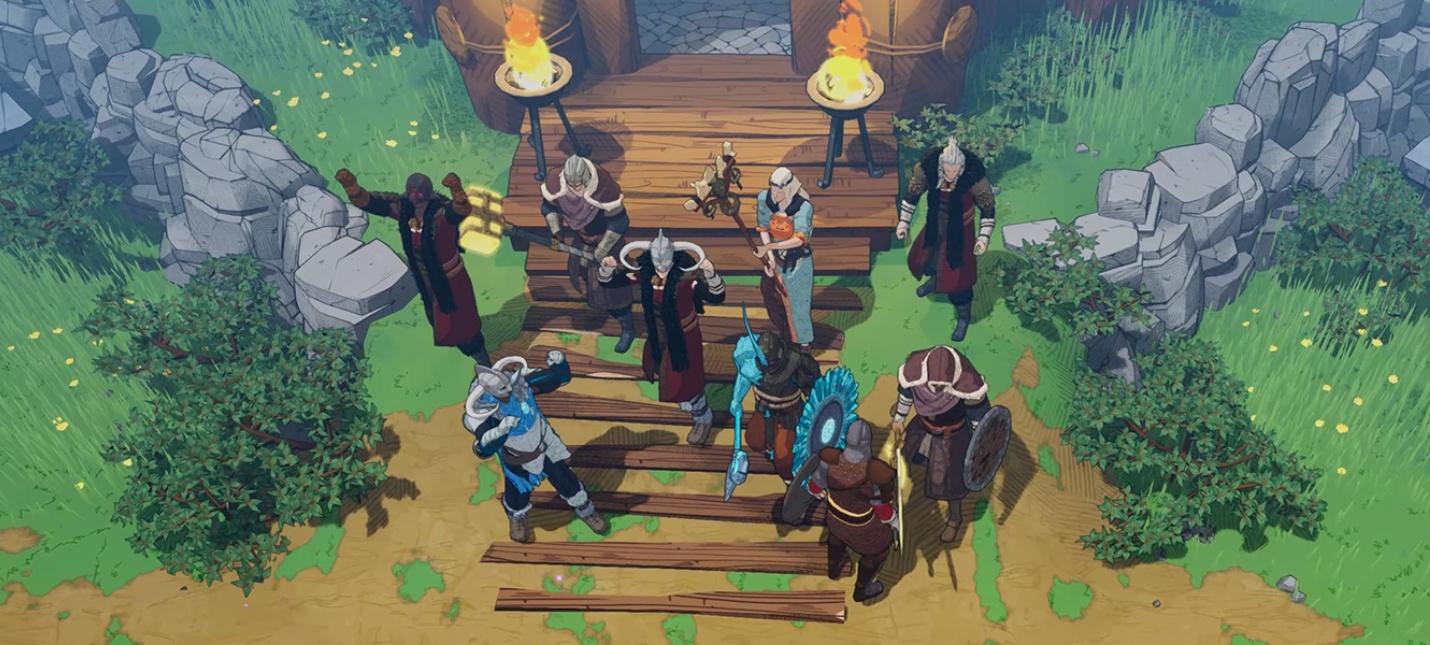 Кооперативный сурвайвал Tribes of Midgard выйдет на PC и PS5 в 2021 году