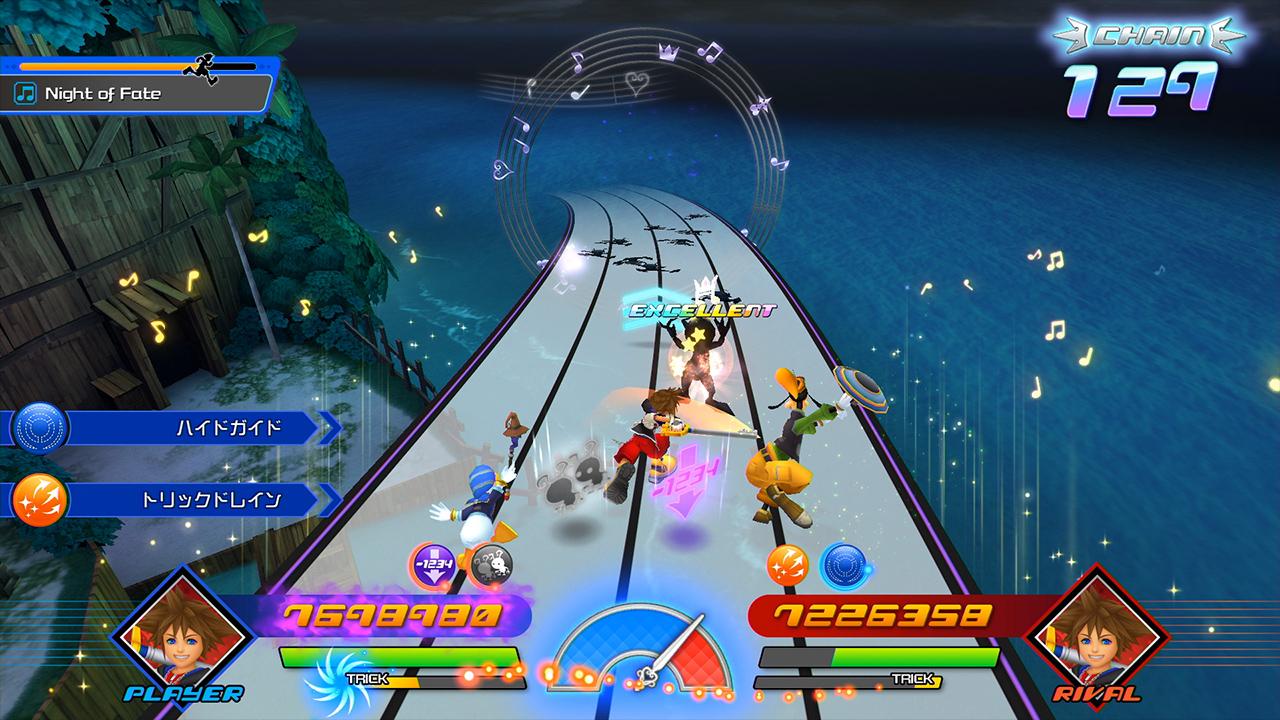 Square Enix представила ритм-игру Kingdom Hearts: Melody of Memory