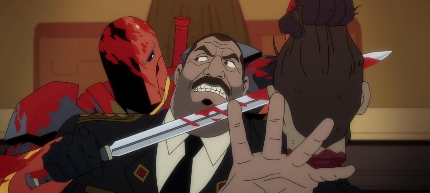 Pervyj Trejler Multfilma Deathstroke Knights Dragons Shazoo