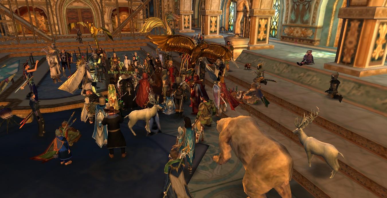 Игроки The Lord of the Rings Online почтили память Иэна Холма