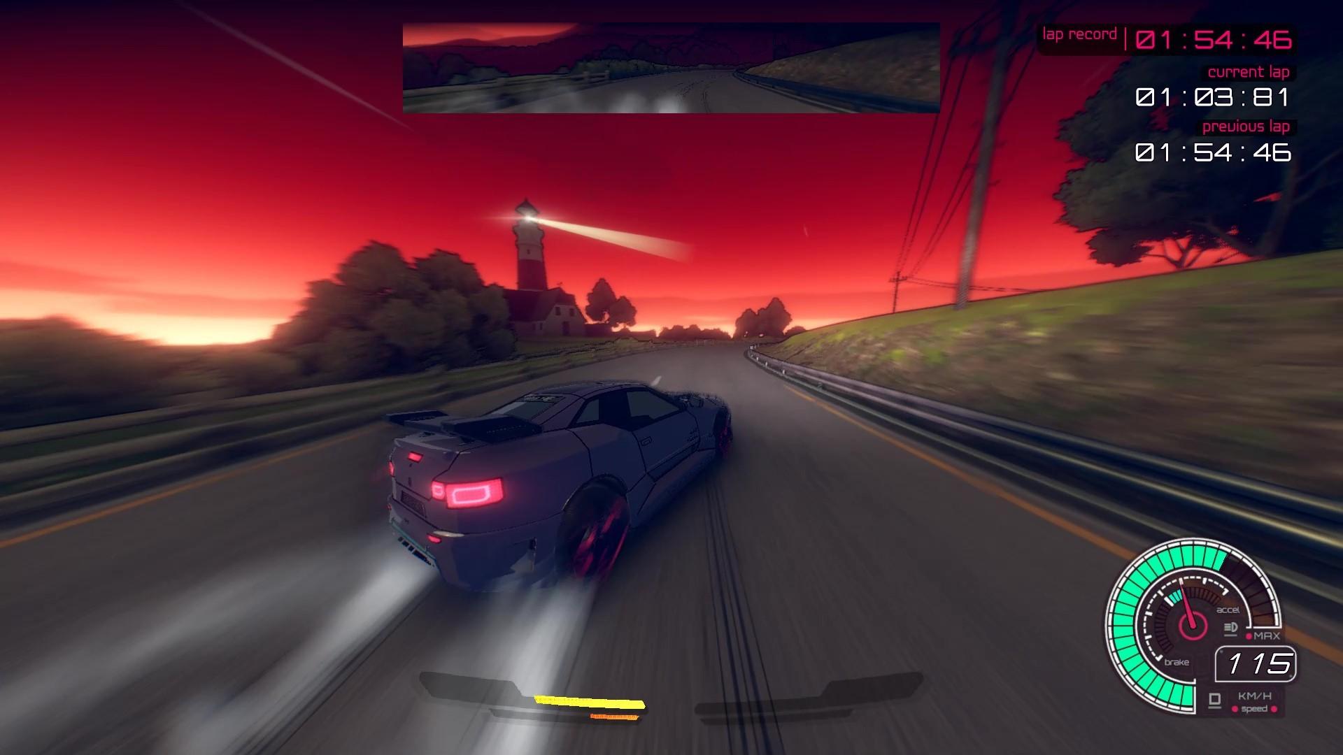 Релизный трейлер пролога Inertial Drift с уникальным управлением