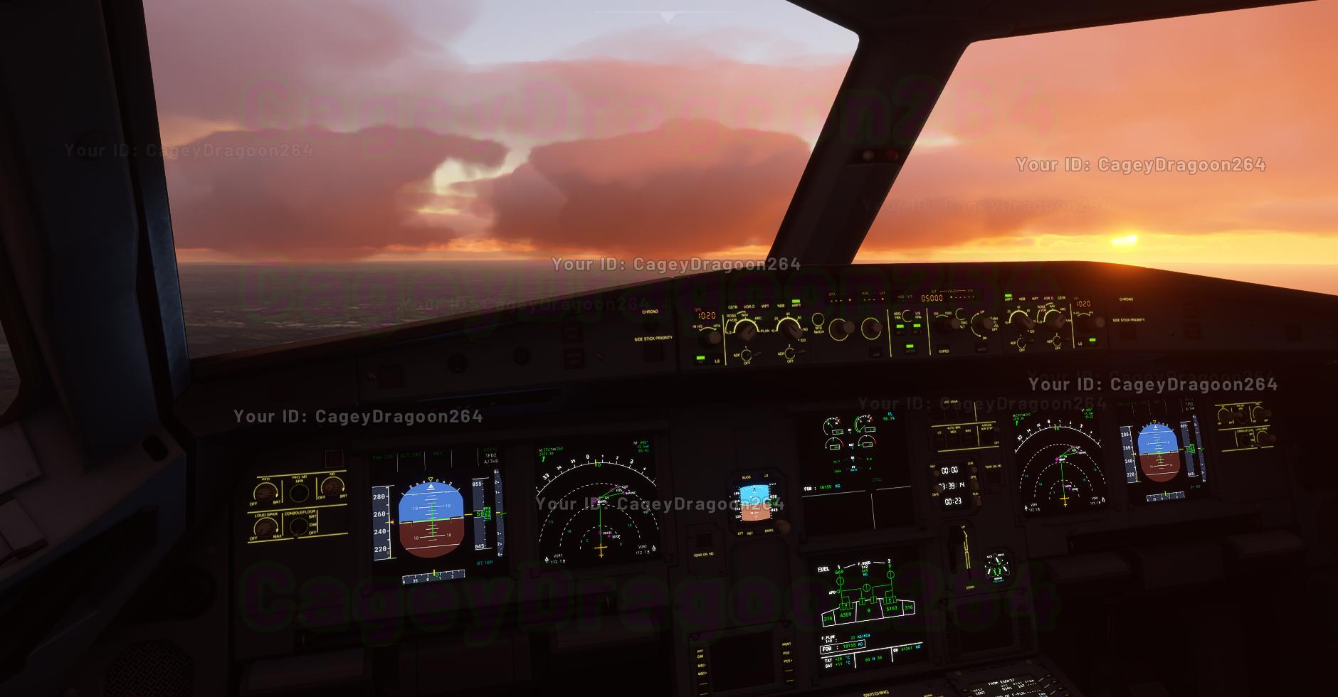 Небеса и уютные кабины пилотов на новых скриншотах Microsoft Flight Simulator