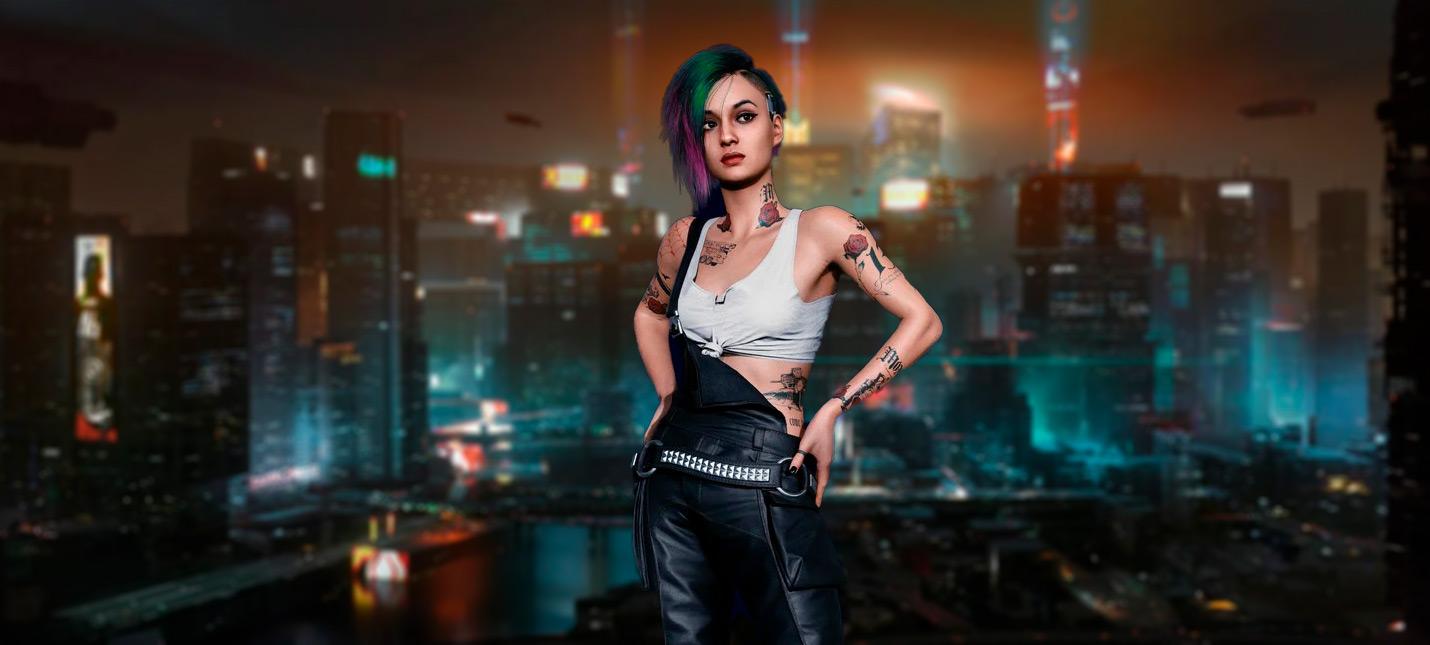20 минут нового геймплея Cyberpunk 2077 в 4K
