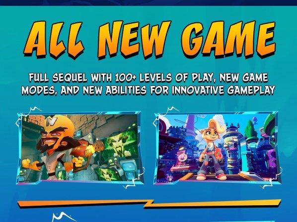 В Crash Bandicoot 4: It's About Time будет более 100 уровней