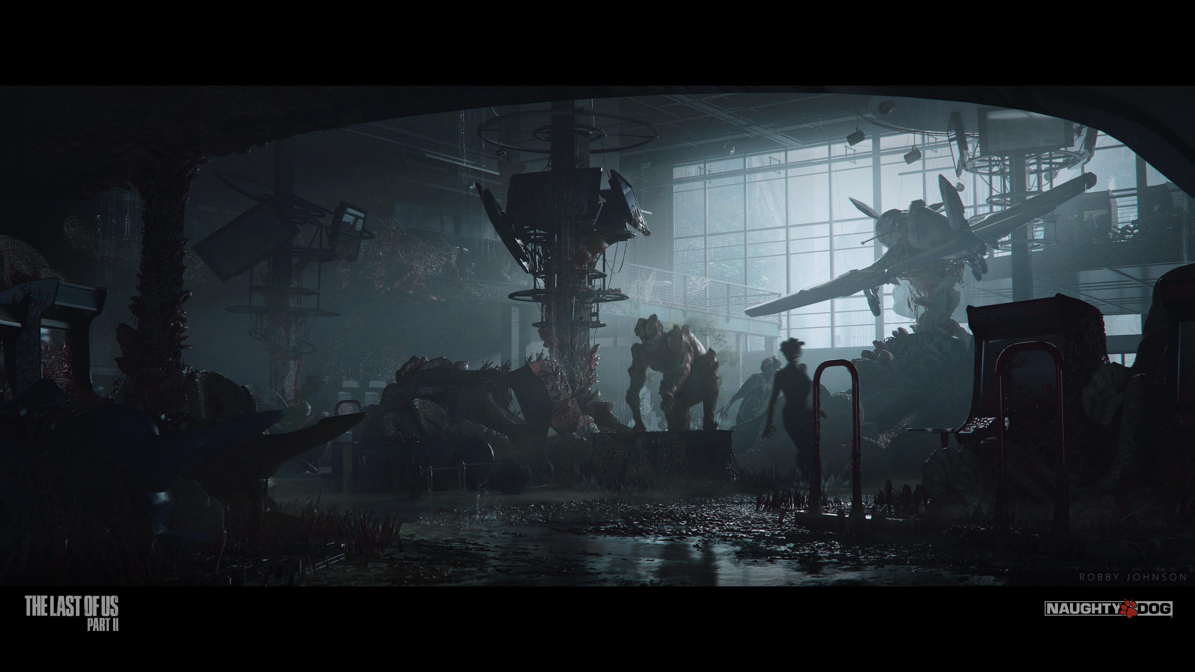 Концепты и арты по The Last of Us 2 от художников Naughty Dog
