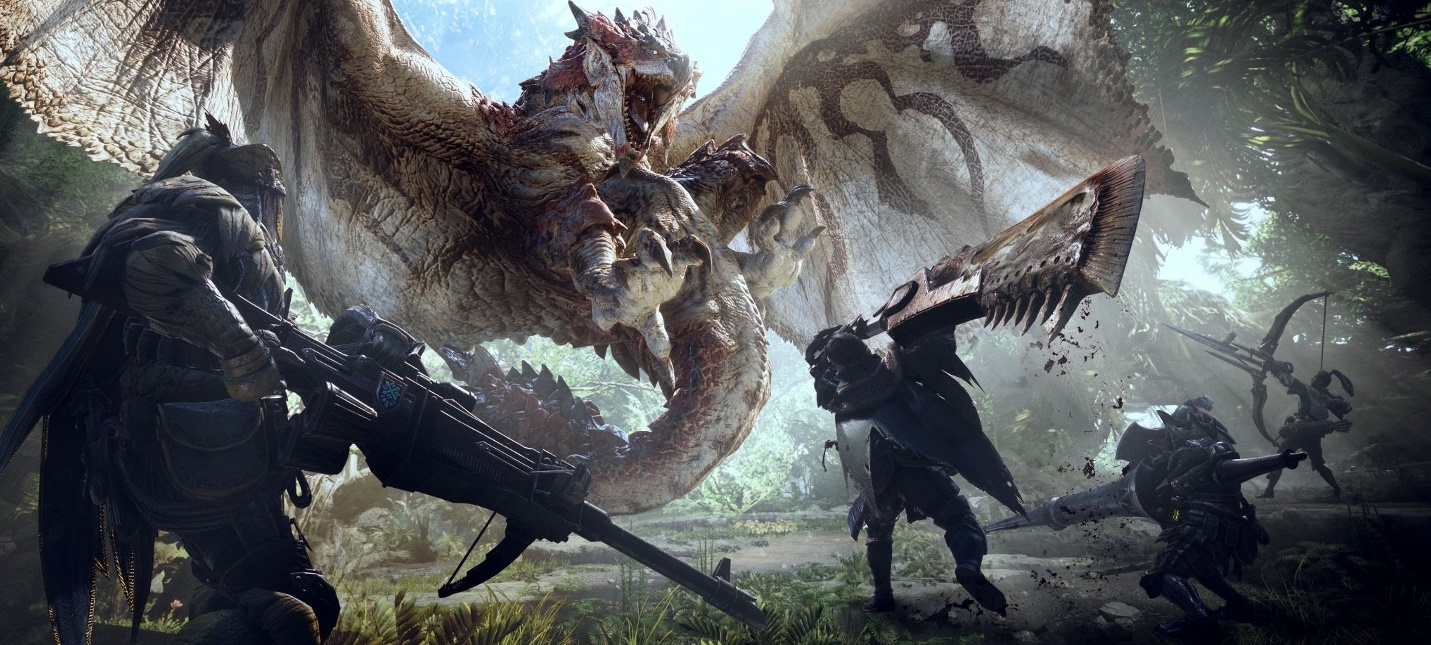 Дракон Алатреон появится в Monster Hunter World: Iceborn 9 июля
