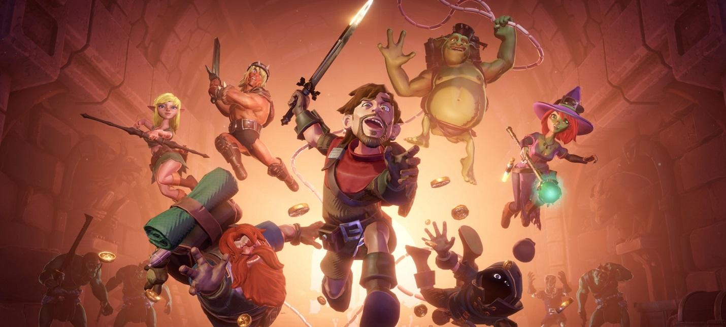 Группа героев зачищает подземелье в новом трейлере RPG The Dungeon Of Naheulbeuk