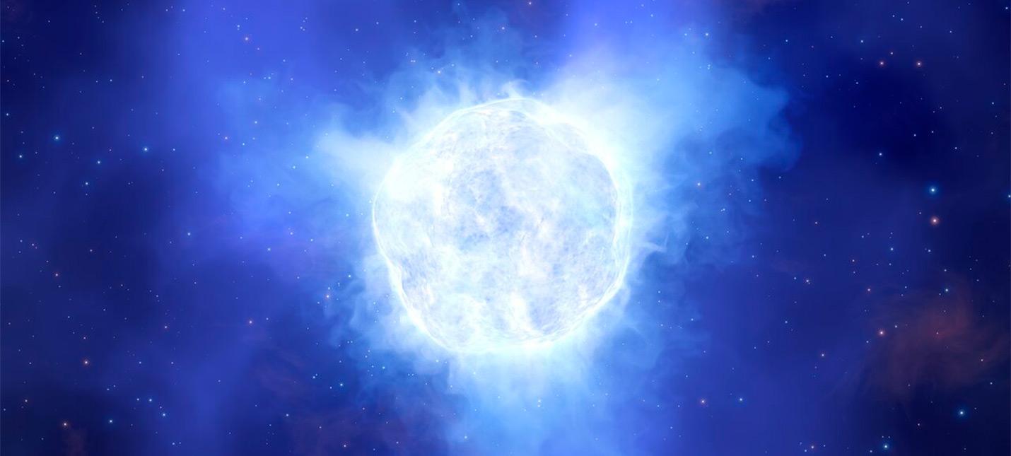 Астрономы сообщили о внезапном исчезновении массивной звезды