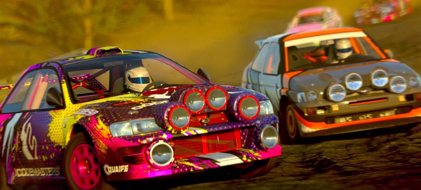 Грузовики, классика 80-х и внедорожники — классы машин на новых скриншотах DIRT 5