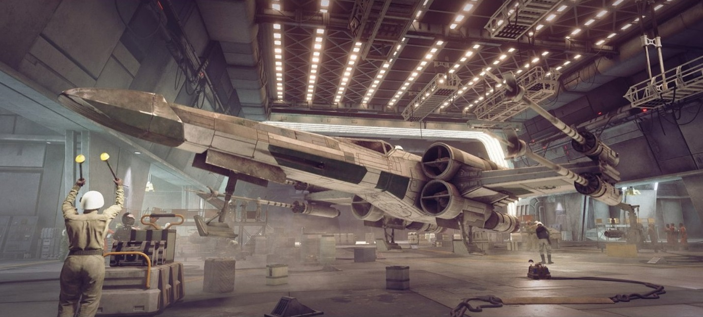 В Star Wars: Squadrons можно будет отключить отображение интерфейса и кастомизации