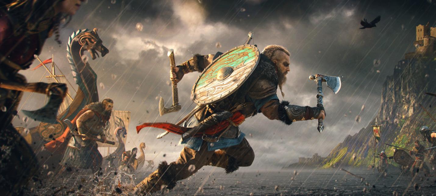 Утечка: Полчаса геймплея Assassin's Creed Valhalla