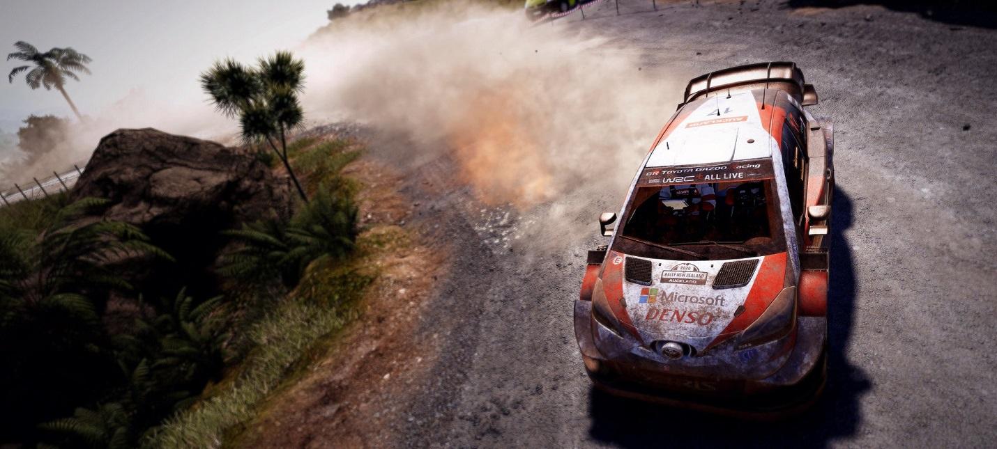 Ралли по сафари в геймплейном отрывке WRC 9