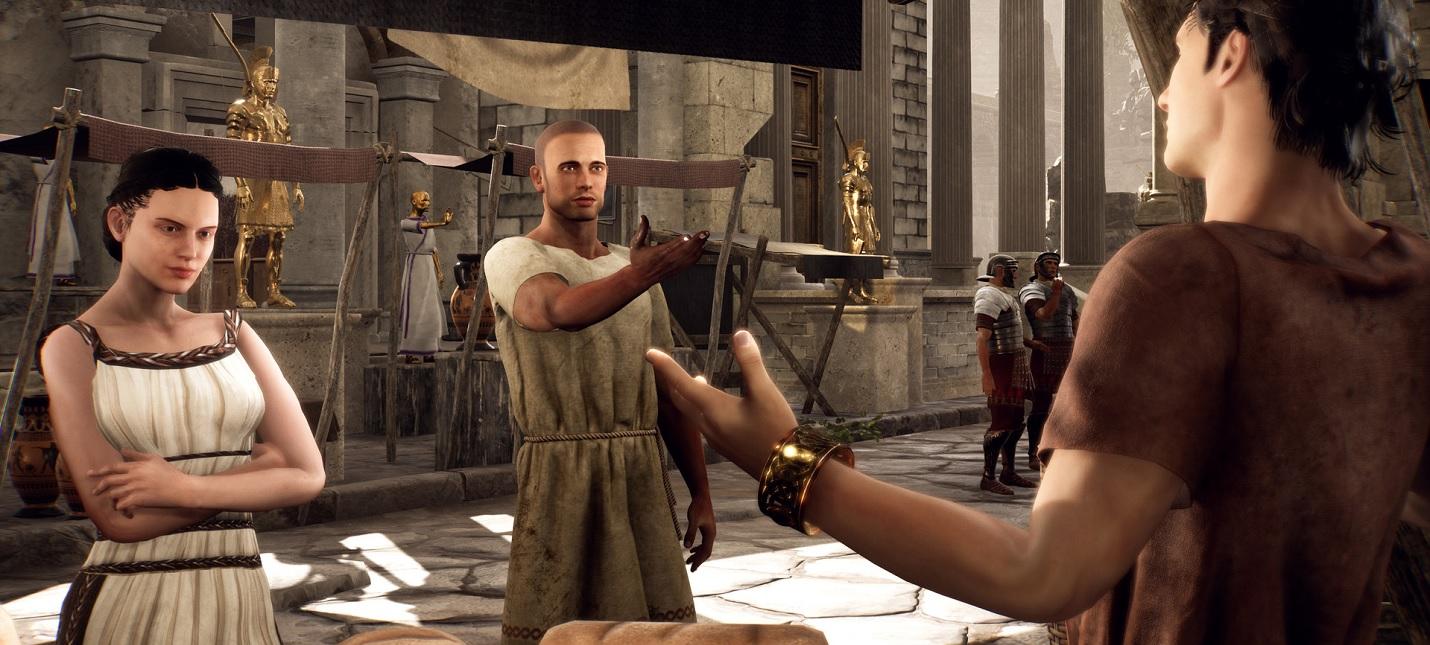 Новый геймплей The Forgotten City — детективной игры, выросшей из мода для Skyrim