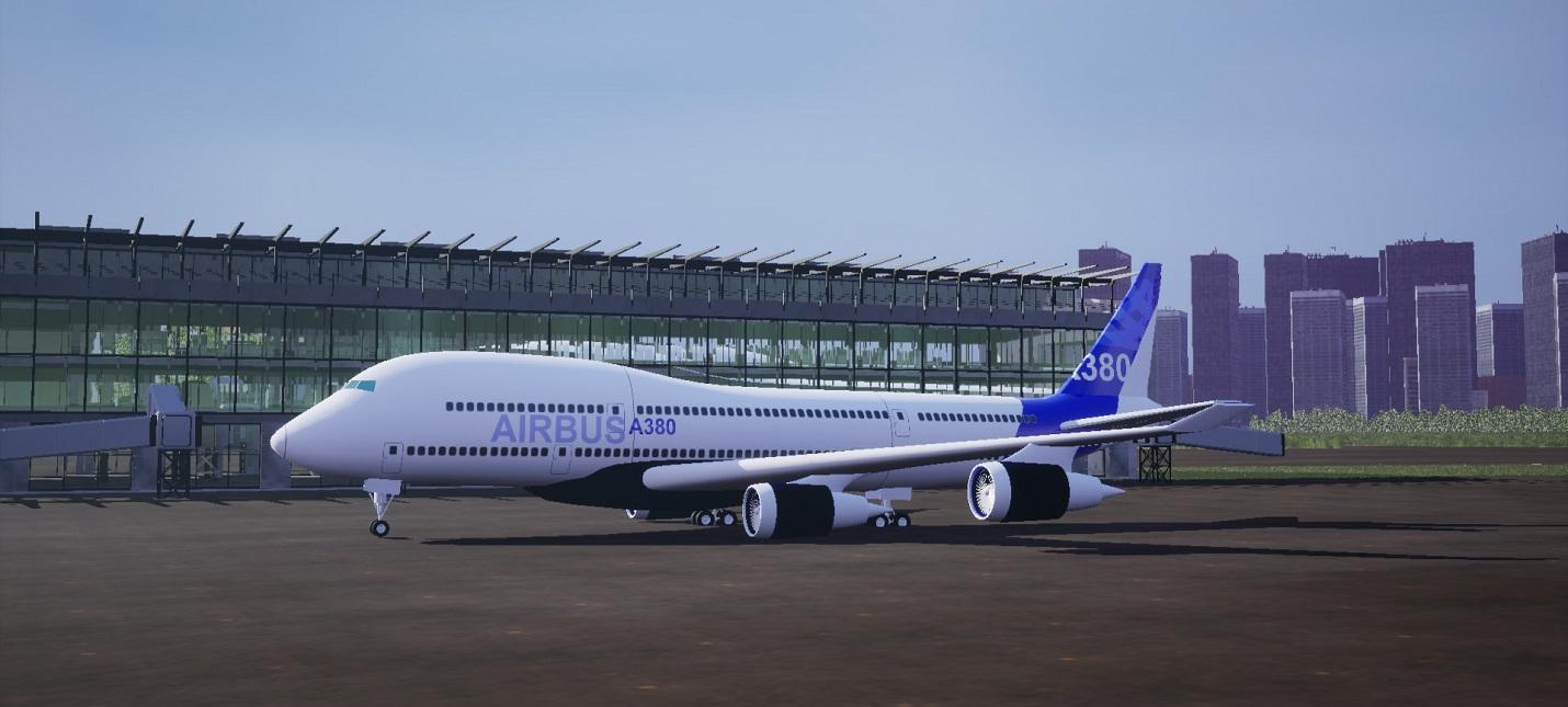 Восстановление аэропортов и самолетов в трейлере симулятора Airport Renovator